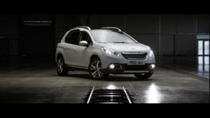 Peugeot celebrates technological advances in film-making
