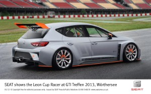 SEAT launches Leon Cup Racer at GTI Worthersee Treffen