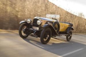 Vauxhall 30-98 marks centenary in hillclimb event