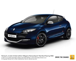 Renault to launch limited edition Megane Renaultsport Red Bull Racing RB8
