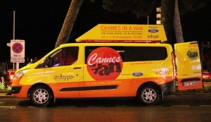 Ford Transit Custom takes the Cannes Film Festival experience to the streets