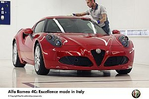 Alfa Romeo reveals details of compact supercar 4C