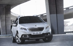Peugeot shows off 2008 Crossover's Grip Control at Tamworth's Snowdome