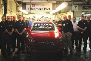 Vauxhall hits UK production milestones