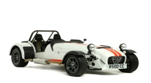 Taming the Snake in the Stig's Caterham
