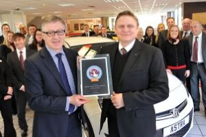Bristol Street Motors Vauxhall Lichfield dealership honoured