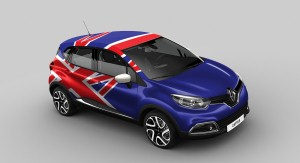 Vote to get a Renault Captur in your country's colours