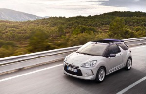 Citroen DS3 Cabrio launches across the UK
