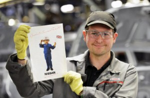 Destiny calling. Chris grows up with Nissan