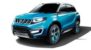 Suzuki unveils the iV-4 compact SUV concept