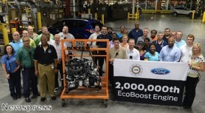 Ford completes production of two millionth EcoBoost engine