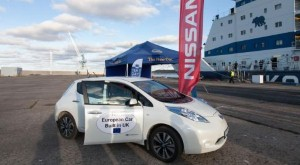 Nissan pushes for rapid charge network