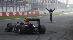 Vettel seals fourth F1 title in India