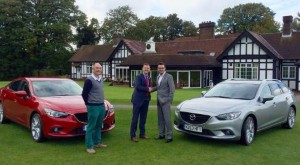 Mazdas set for London Golf Show display