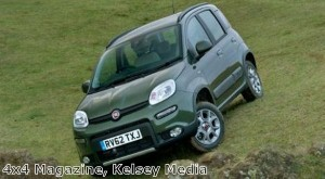 Fiat Panda named Best Mini 4X4 in magazine awards