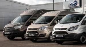 Ford receives more plaudits for van range