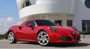 Alfa Romeo 4C scoops top FHM award