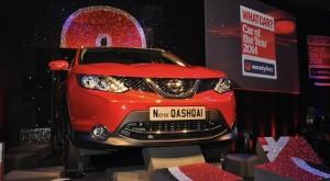 Nissan Qashqai named What Car? Car of the Year