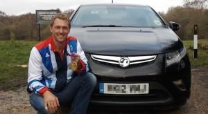 Alex Gregory starts Vauxhall partnership with new Ampera