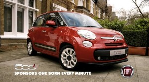Fiat 500L delivers for Channel 4 show