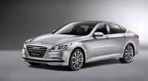 Hyundai debuts Genesis in Geneva