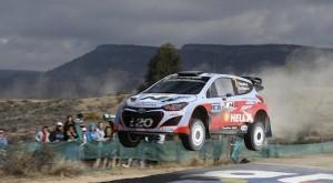 Hyundai i20s ready for Rally de Portugal