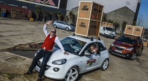 Vauxhall takes art on the road once more
