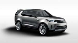 Land Rover shows off Discovery Vision
