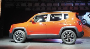 Jeep reveals new Renegade in New York