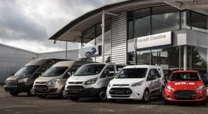 Ford vans leave competition quaking