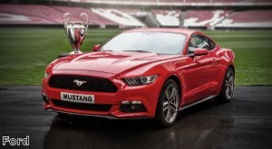 Ford to open Mustang order book during Champions League final