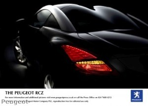 New Peugeot RCZ up for grabs for most creative ad-maker