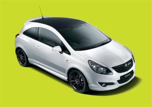 New Vauxhall Corsa launched in limited edition black and white