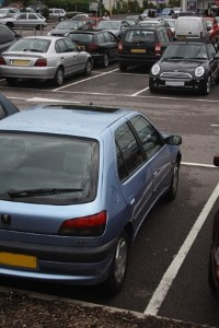 New and used car drivers can find a parking space before leaving home
