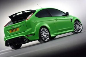 Special wheel set for last few Ford Focus RS models