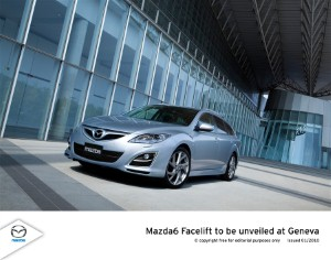 Mazda 6 to be extensively revised