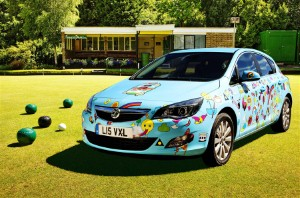 New Vauxhalls have been created specially for the event