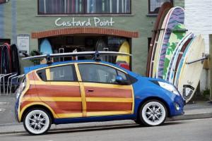 Chevrolet unveils new art Spark model