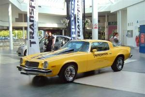 Chevrolet showcases iconic Camaro