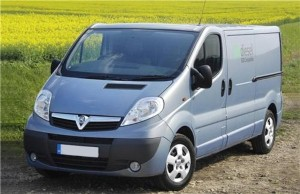 Vauxhall Vivaro chosen by SPP Pumps