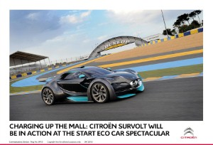 Citroen to unveil all-electric racing model