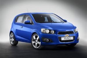 Chevrolet to showcase new Aveo