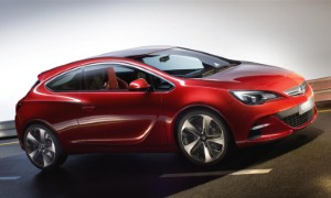 Vauxhall unveils GTC Paris Concept
