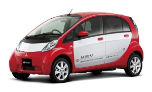 Mitsubishi releases all-electric car