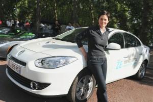 MacArthur praises electric Renault Fluence ZE