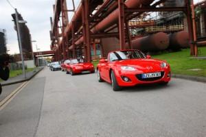 Mazda MX-5 parade breaks record