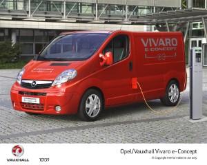 Vauxhall to showcase new electric van