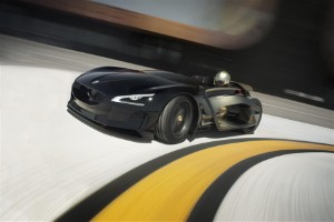 Peugeot EX1 smashes records