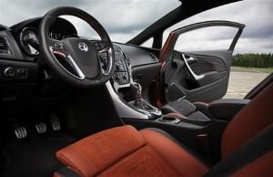 Vauxhall reveals GTC Paris concept interior