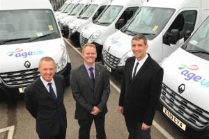 Renault provides vans for Age UK fleet